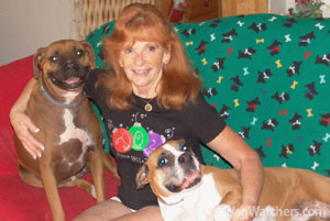 Pet sitter of the month -Mary